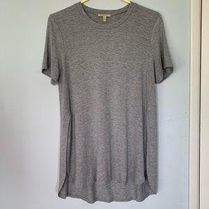 Anthropologie Grey Tshirt